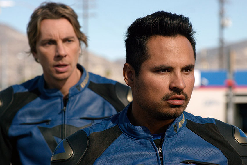 'CHIPS' Star Michael Peña On Mastering The Motorcycle 'I Was Not Good'