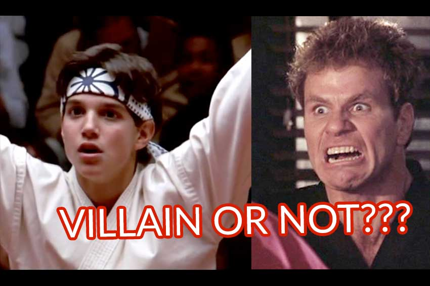 Cobra Kai Karate Kid Kreese Villain