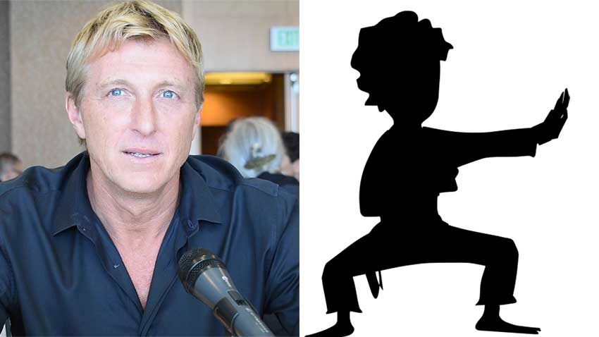 Cobra Kai William Zabka Recommends Martial Arts Bullying 850