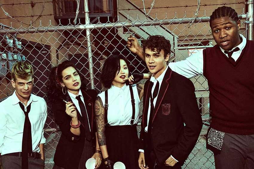 'Deadly Class' Stars Talk Show's Love Triangle