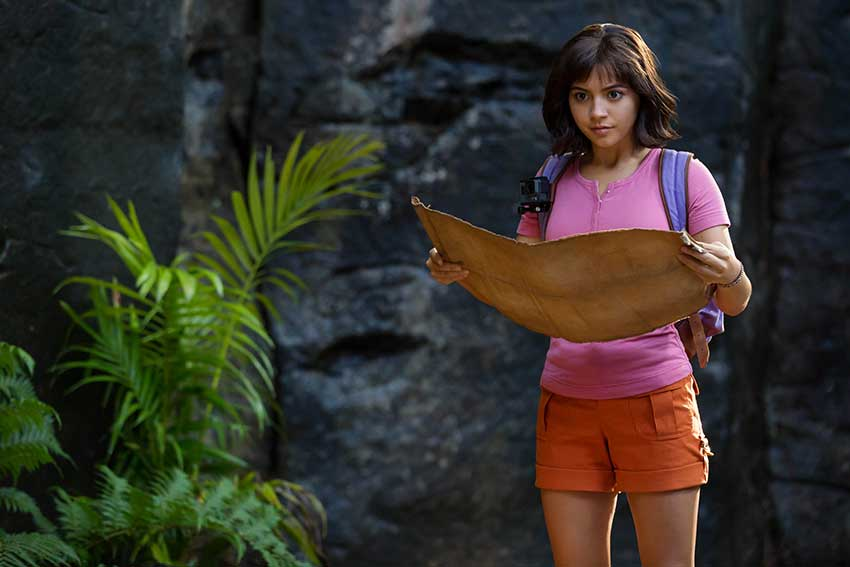 Dora Lost City of Gold movie review 850