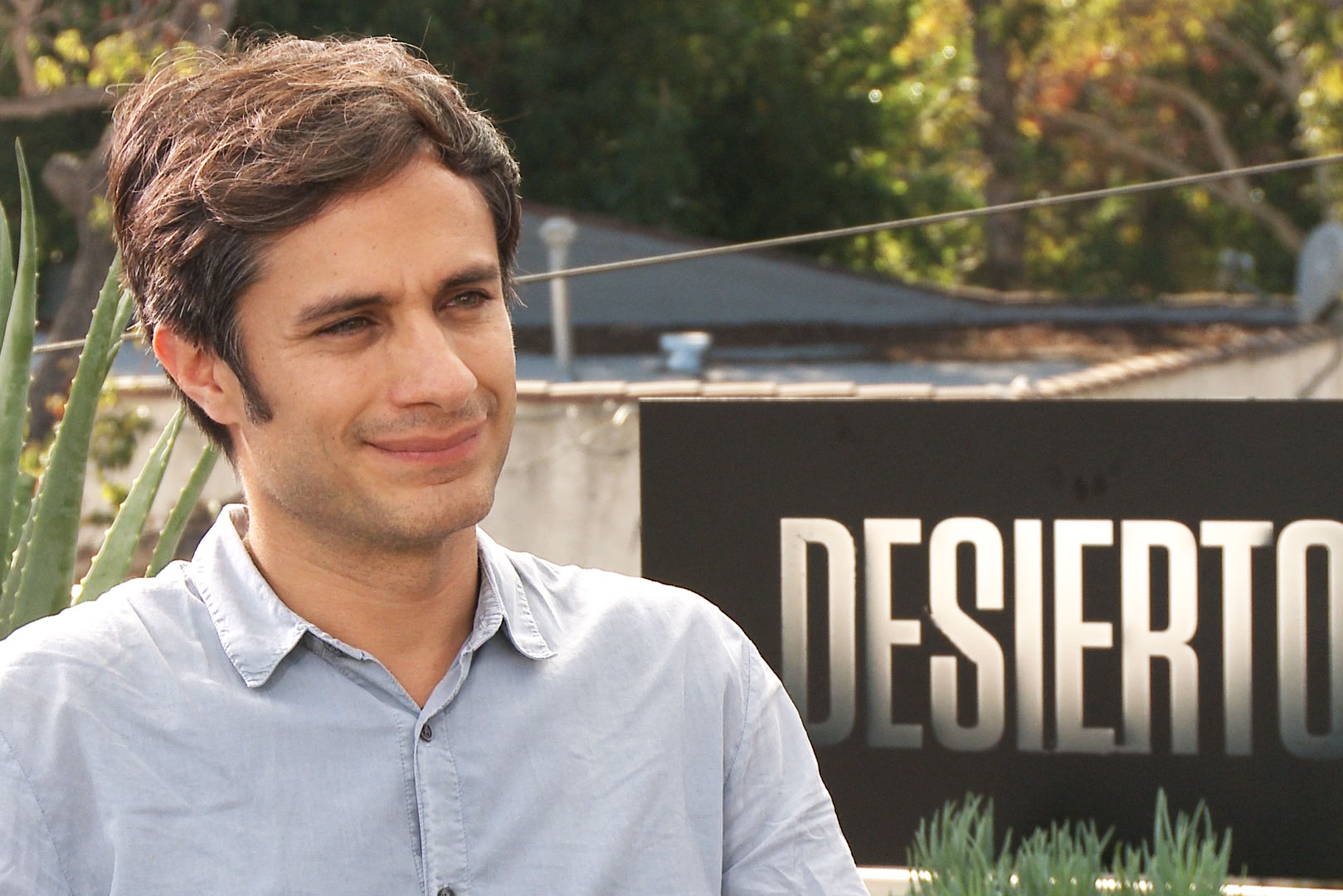 Gael Garcia Bernal Talks DESIERTO Movie & Immigration