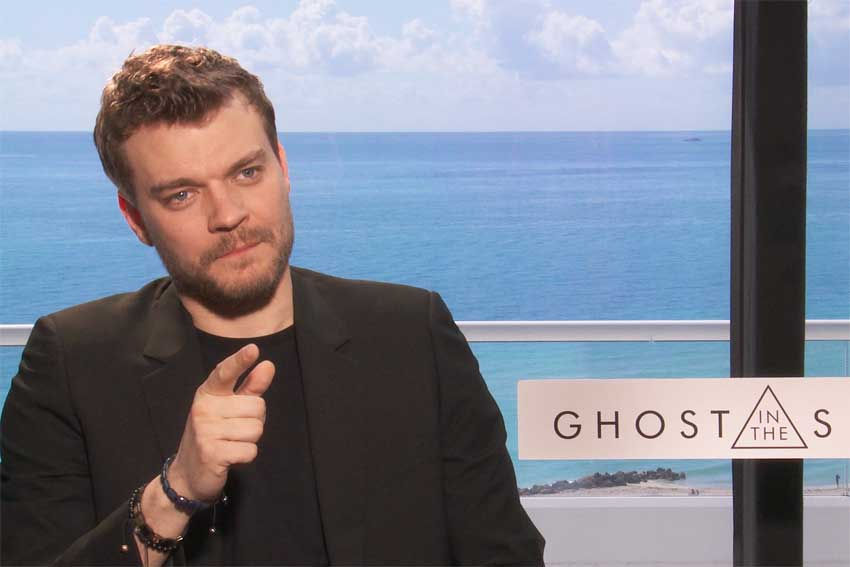 Ghost inthe Shell Pilou Asbaek CineMovie Interview