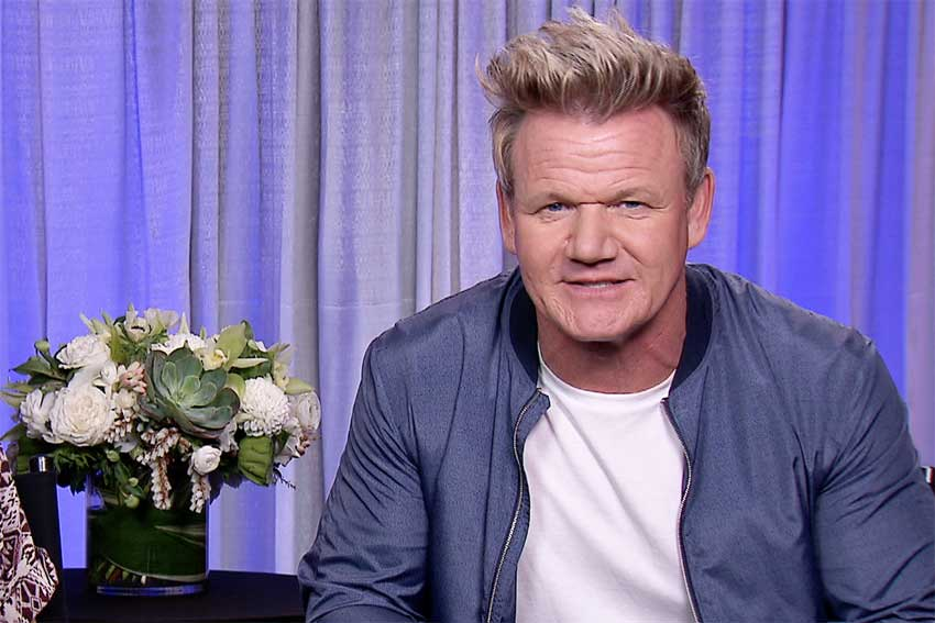 Gordon Ramsay Talks Tough Love on