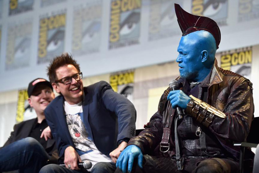 James Gunn Says Michael Rooker Deserves Award For  'Guardians of the Galaxy Vol. 2'.