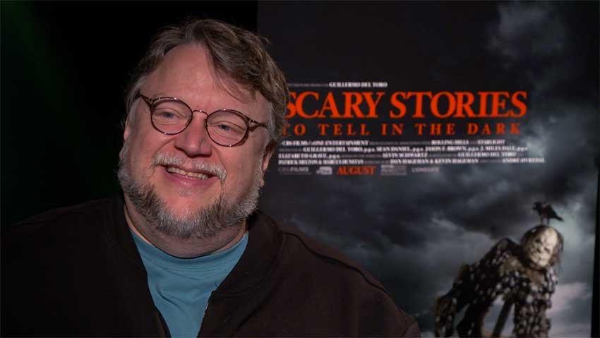 Guillermo Del Toro Scary Stories CineMovie interview