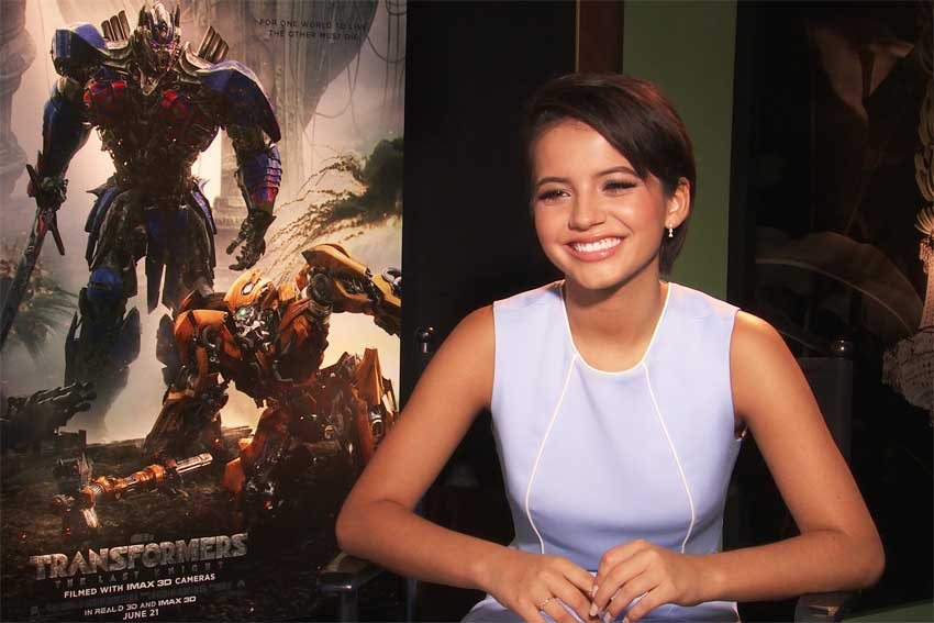 Interview with 'Transformers' 5 Isabel Moner