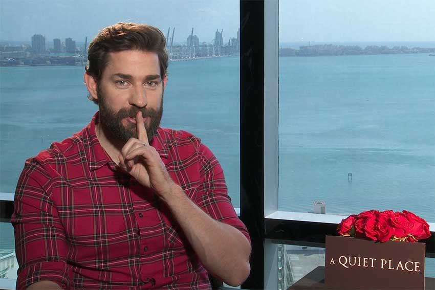 Interview: John Krasinski Talks 'A Quiet Place'
