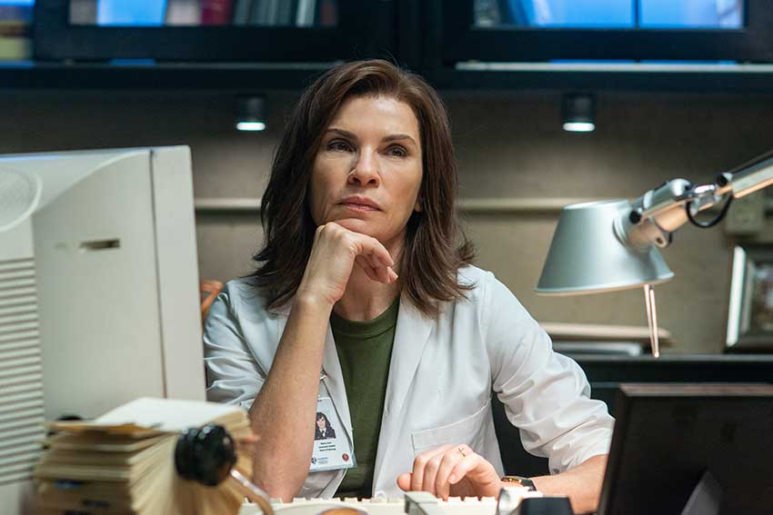 Interview: Julianna Margulies Digs Deep Into 'The Hot Zone'
