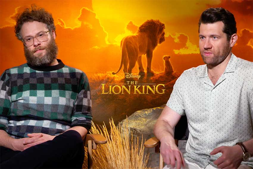 Interview: Seth Rogen and Billy Eichner On Recording Together