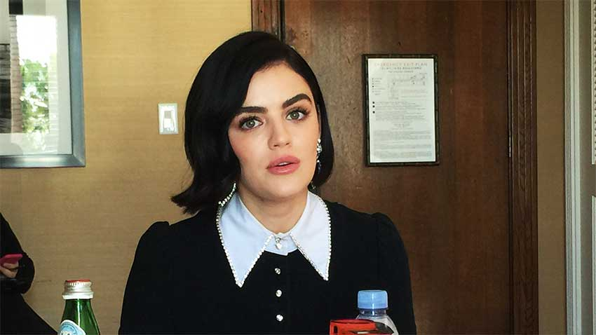 Lucy Hale CineMovie interview Fantasy Island
