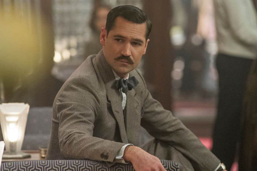 Manuel Garcia Rulfo Talks 'Murder On The Orient Express'