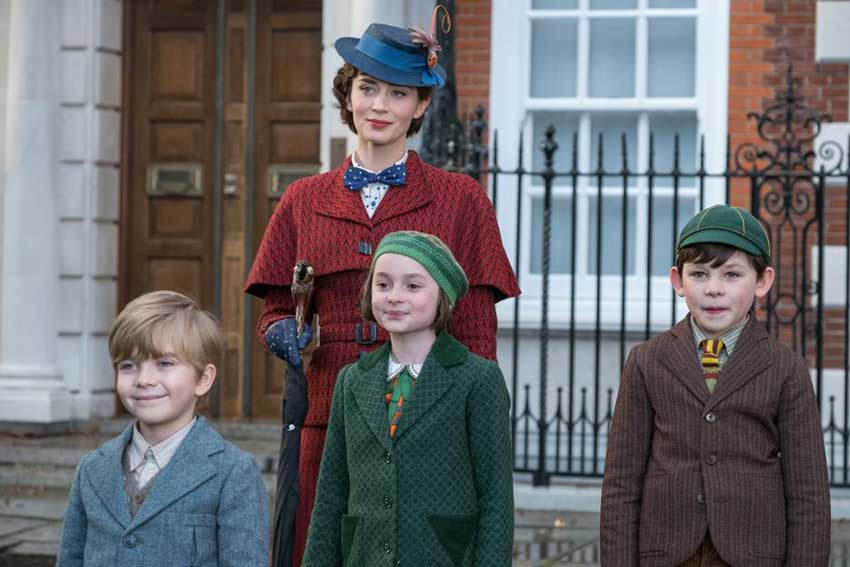 Emily Blunt Interview:  Mary Poppins Returns