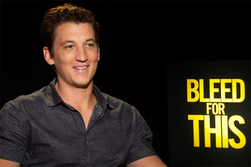 Miles Teller Interview Cinemovie