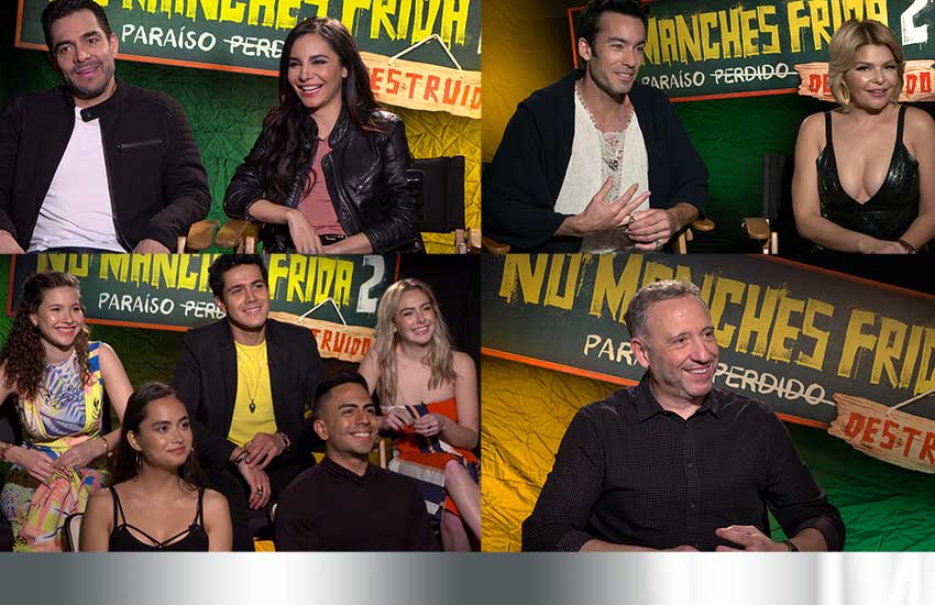 Interview: 'No Manches Frida 2' Cast Talk Difficult Shoot