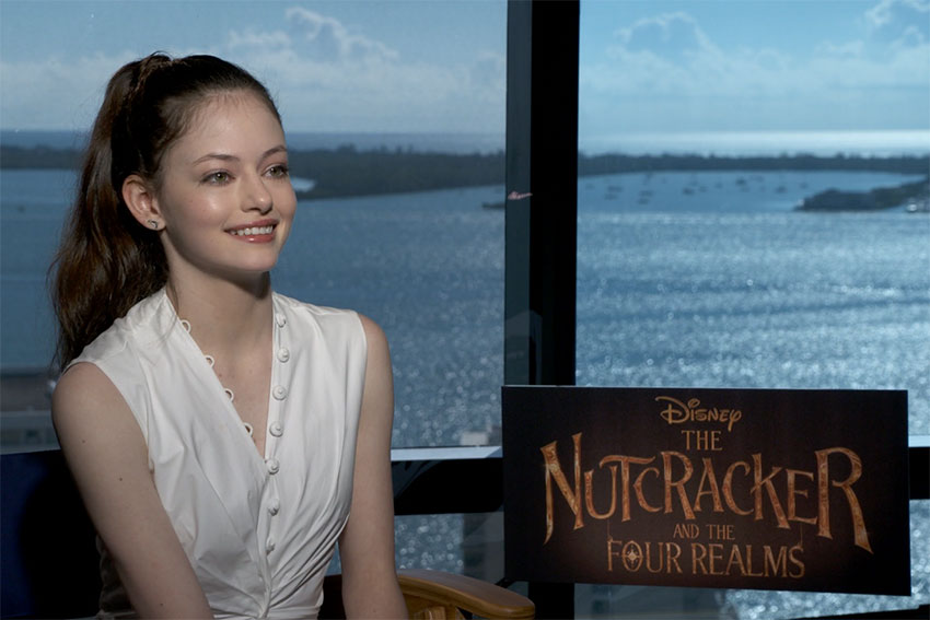 Mackenzie Foy Talks Disney's 'Nutcracker'