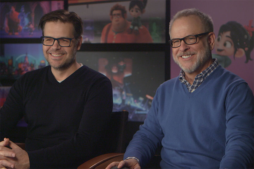 Ralph Breaks The Internet directors Phil Johnston Rich Moore