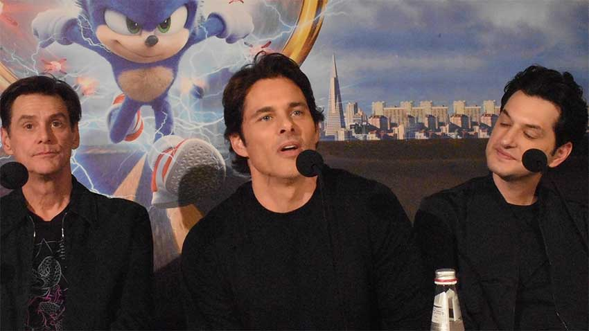 Sonic Movie Stars Interview