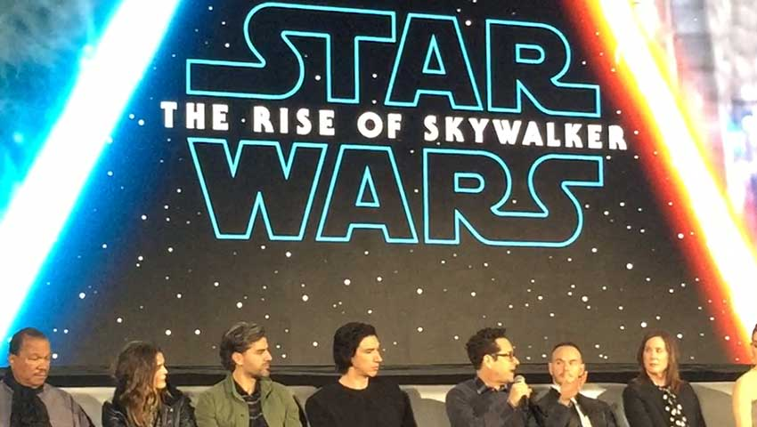 Watch STAR WARS EPISODE IX Panel