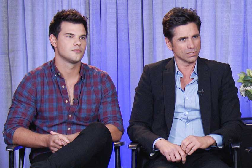 'Scream Queens' Stars John Stamos and Taylor Lautner Talk Wacky New Characters