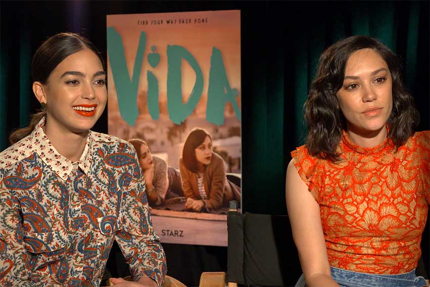 'Vida's Melissa Barrera and Mishel Prada On Their Intimate Scenes On Latinx Show