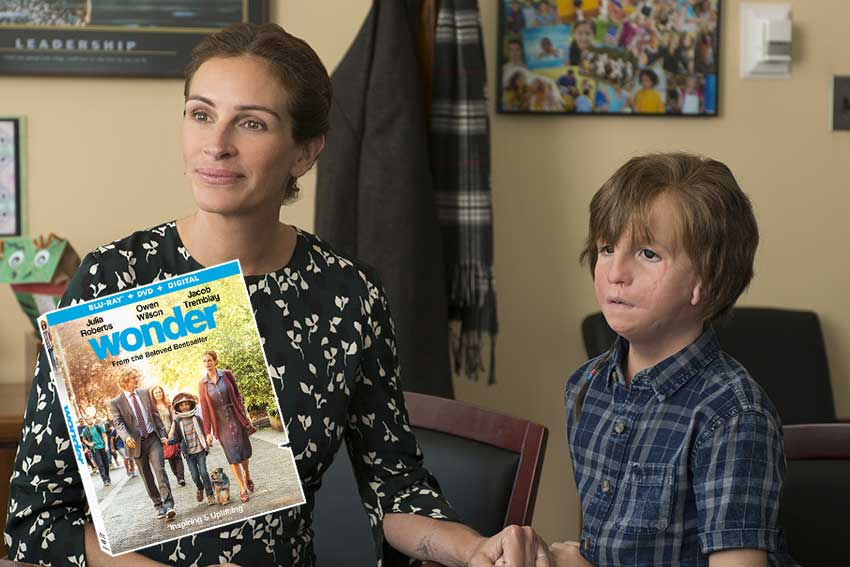 Giveaway: Win a 'Wonder' DVD