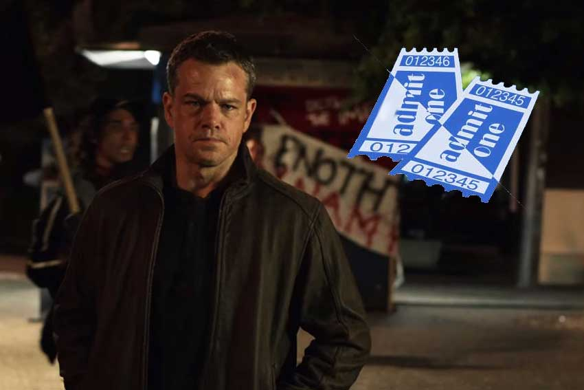 Win 'Jason Bourne' Tickets in Chicago, Houston, Los Angeles and NYC