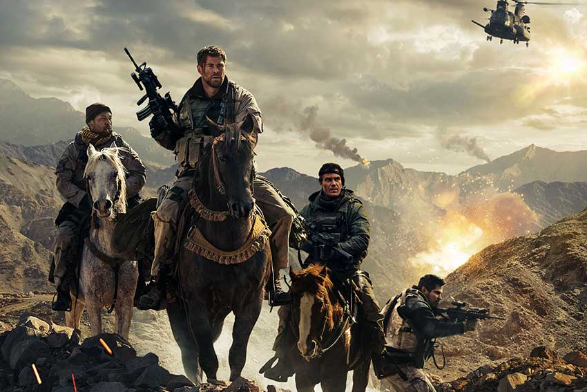 12 Strong movie poster image