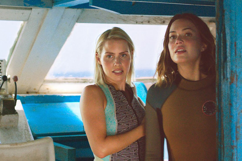 47 meters down claire holt mandy moore interview