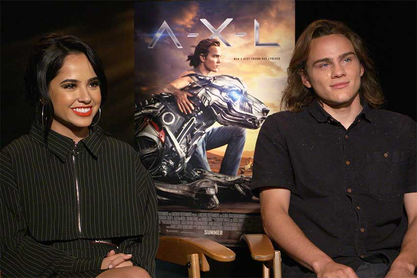 AXL Interview Becky G Alex Neustaedter