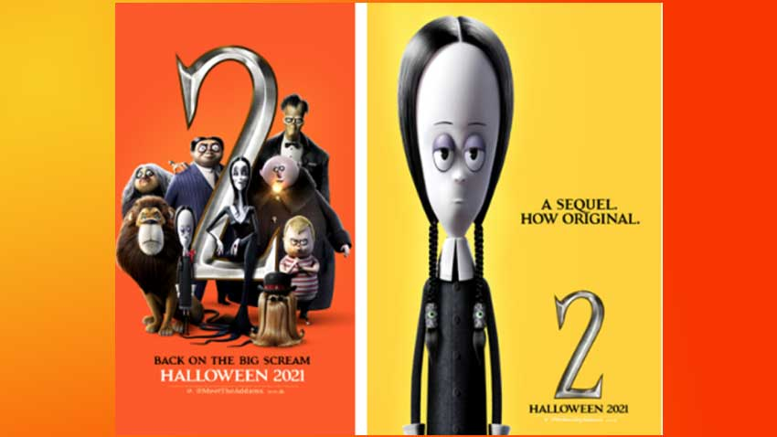 Addams Family 2 posters