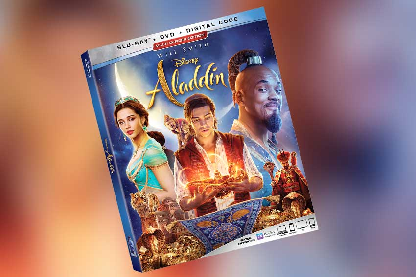 Aladdin Bluray DVD 4K release