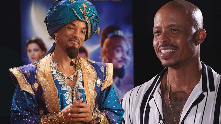 Aladdin Choreographer Jamal Sims Will Smith 850