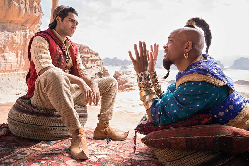 Aladdin Will Smith Mena Massoud