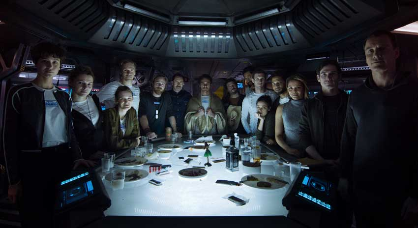Alien: Covenant cast