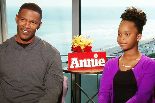 Annie-JamieFoxx-Wallis-CineMovie-Interview