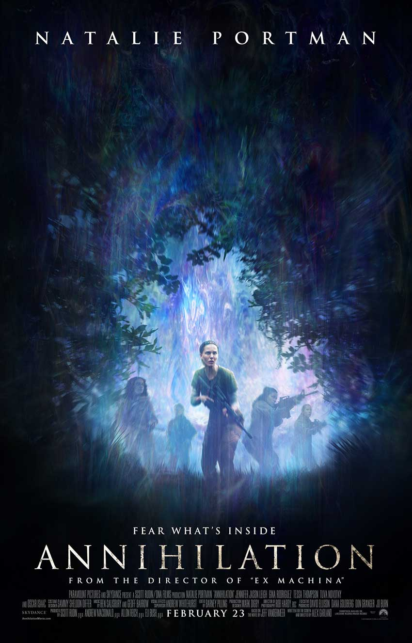 Annihilation new movie poster