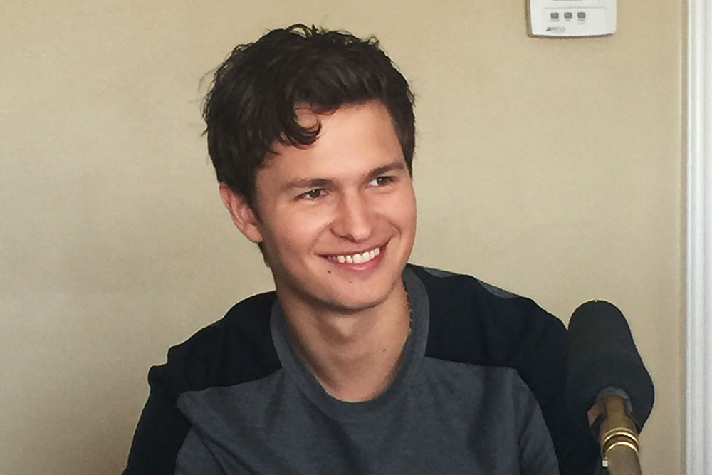 Ansel Elgort Baby Driver interview