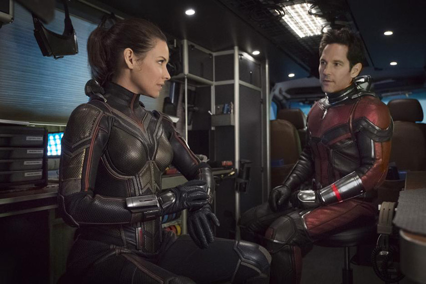 Ant Man And The Wasp Paul Rudd Evangeline Lilly2