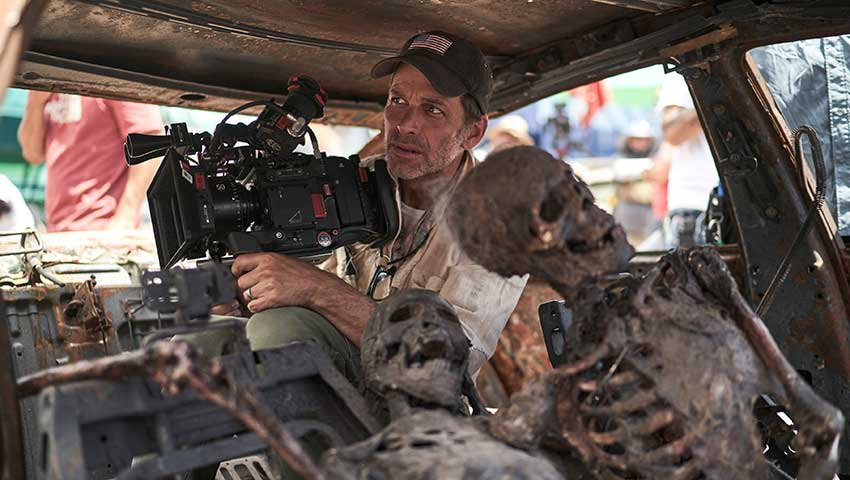 Army of the Dead Netflix Zack Snyder On Set