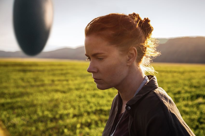 Arrival movie starring Amy Adams