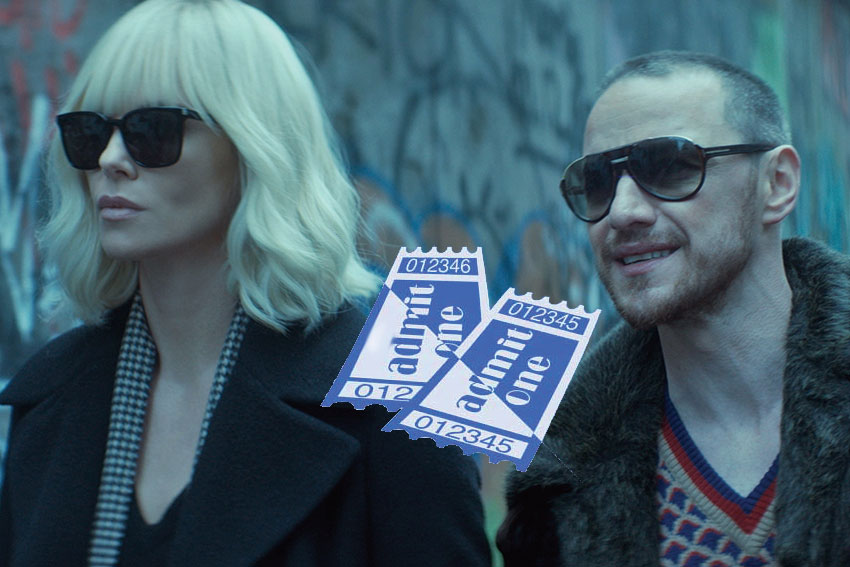 Atomic Blonde ticket giveaway