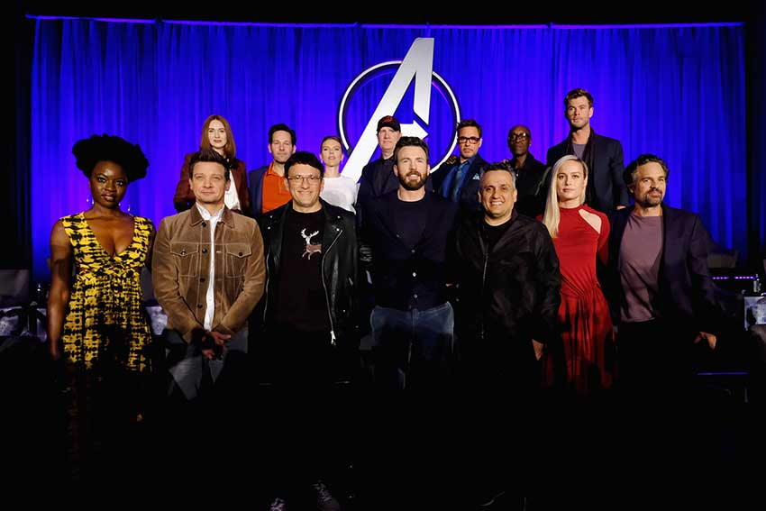 Avengers Endgame Press Day Marvel