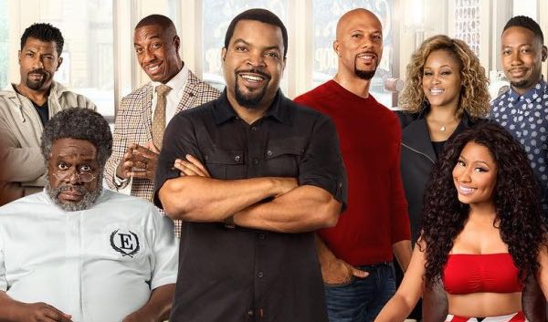 Barbershop 3 The Next Cut movie Ice Cube, Common, Nicki Minaj, Cedric the Entertainer