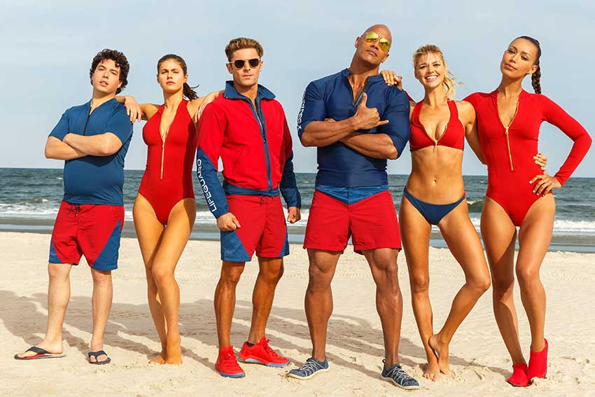 Baywatch movie Dwayne Johnson