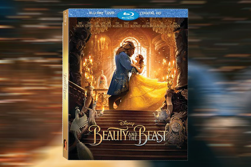 Beauty and the Beast Bluray Combo box