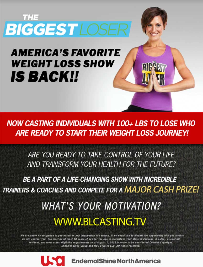 Biggest Loser Casting Bilingual Latinos 850