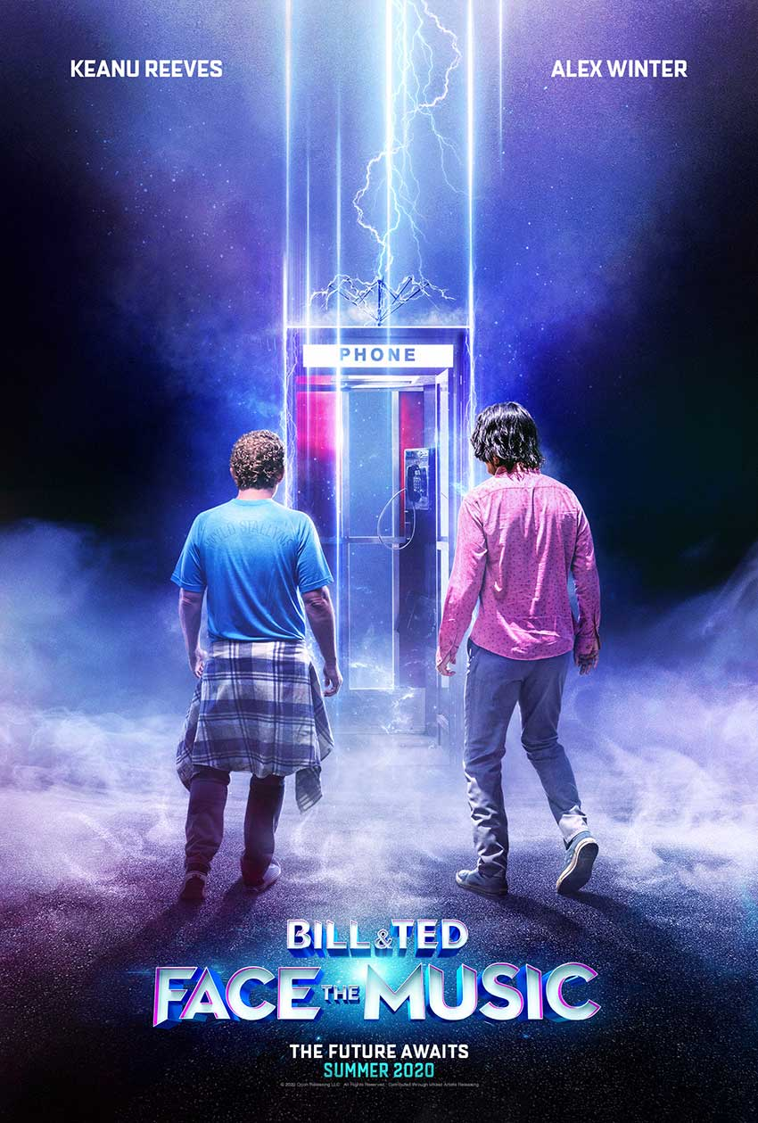 Bill and Ted 3 Face the Music movie poster 2020