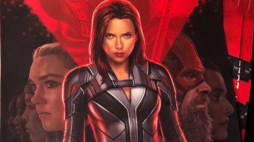 Black Widow movie poster image