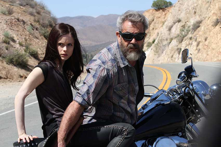 Blood Father Mel Gibson ErinMoriarty